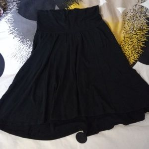GAP Maternity black Stretch knit skirt